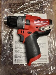 Milwaukee 2504-20 12 Volt Lithium Ion Fuel Brushless Hammerdrill (Tool Only)