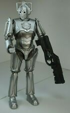 Doctor Dr Who CYBERMAN with Heavy Assault Weapon Figure Loose NEW Cybermen