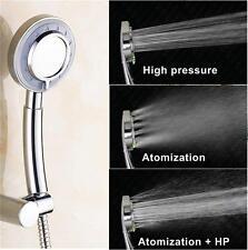 Best High Pressure Shower Head Handheld Chrome Powerful Boosting 3-Mode Function
