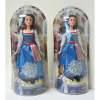 2-Pack Disney Beauty and the Beast Belle Village Dress Doll Toy DAMAGED BLISTER