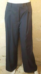 CAROLL Taille 40 Superbe pantalon large femme  ton  gris foncé