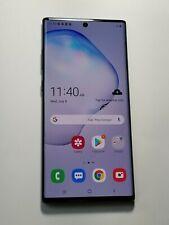 Samsung Galaxy Note 10 Plus - Black - 256GB - GSM Unlocked- Jy88
