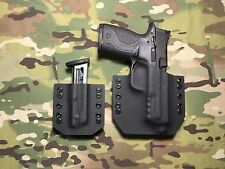 Black Kydex M&P 22 Compact Threaded Barrel w/ Single Mag Carrier