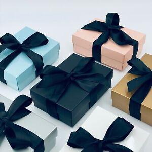 Premium Small Gift Box. PICK YOUR RIBBON COLOUR.