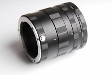 Macro tube d'extension 3 ring set pour Nikon f mount dslr slr D5500 D5300 D7100 nouveau