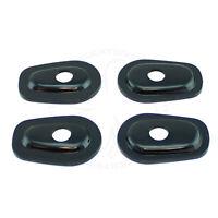 Stalk Turn Signal Adapter Plate For Kawasaki Ninja ZX 6R Light Blinker V2 Black