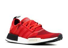 Adidas NMD R1 Geometric Red Camo S79164 - Size 18