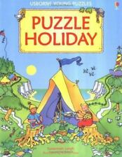 Puzzle Holiday by Susannah Leigh Usborne Young Puzzle Books (1997, Paperback)