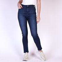 Levi's 512 Perfectly Slimming Dunkelblau Damen Jeans DE 36 / W28 L32