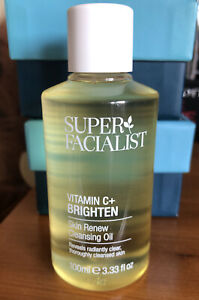 SUPER FACIALIST VITAMIN C SKIN RENEW CLEANSING OIL 100ml