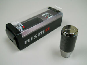 Genuine Nissan NISMO Carbon Fiber Shift Knob Fairlady Z Z33 350Z, & More 10mm