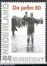Nederland 2563-Ab-19 Nostalgie de jaren 60  Reinier Paping wint Elfstedentocht
