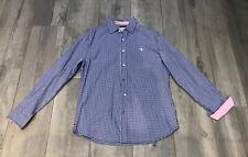 *Canterbury*Mens Blue Check Shirt - Small