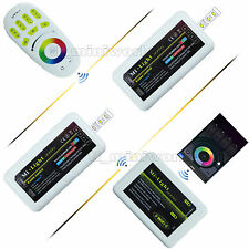 WiFi+Remote+2x RGB led Controller 2.4G RF MiLight 4Zone Android IOS Phone Dimmer