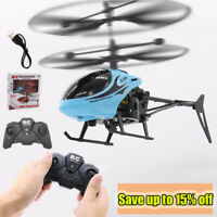 RC Helicopter 2CH QF810 Remote Control Drone Induction Flying Plane for Kid Toy
