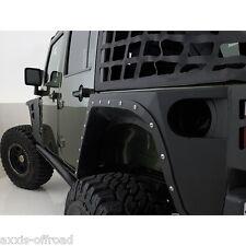 Fits 2007-2018 Jeep Wrangler Unlimited JK XRC Armor Rear Fenders 76882 JK Armor