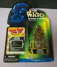 Star Wars Hasbro Power of The Force  Zuckuss Figure 1997 - Torn Package
