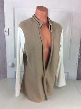 FABIANA FILIPPI Cardigan Sweater Color Block Women's XL