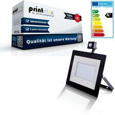 LED Floodlights 30W 4000K IP65 Spotlight Floodlight Black Flat with Motion