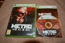 Metro 2033 Xbox 360 PAL Tested Complete