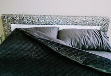 Beautiful Queen Size Bed Frame...White Faux Leather Embellished w/Bling
