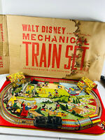 1950's Vintage Marx Walt Disney Mechanical Train Set COMPLETE w/ Box