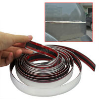 Hot Chrome Self Adhesive Car Details Edging Styling Moulding Trim Strips 22mm