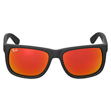 Ray-Ban Justin Color Mix Red Mirror Lens Sunglasses RB4165 622/6Q 55