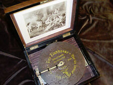 1800's Polyphon Disc Music Box once owned by famous Hollywood actress