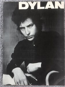 RARE!  BOB DYLAN PROMOTIONAL BROCHURE - 1964 - British