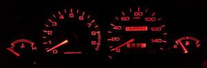Red Gauge Cluster LED Bulb KIT for Acura Integra DC2 DC4 DB8 1994-2001