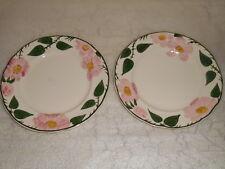 2 VILLEROY BOCH Wild Rose Fine China Salad Plates Germany