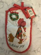 Holly Hobbie Christmas Oven Mitt