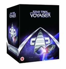 "STAR TREK VOYAGER COMPLETE SERIES SEASONS COLLECTION 48 DISC BOX SET ""on sale"""