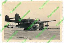Altes orig. Foto Flugzeug Flugboot Wasserflugzeug  245G