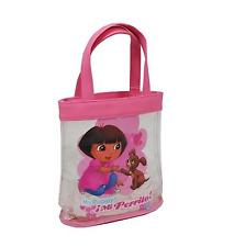 Dora the explorer fourre-tout plage sac fourre-tout en vinyle clair accessoires de vacances voyage sac
