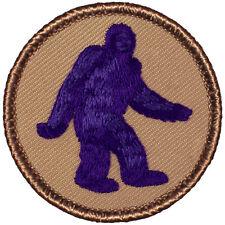 Cool Boy Scout Patrol Patches- PURPLE Bigfoot Patrol! (#173B)