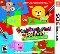 Nintendo 3DS Freakyforms Deluxe Your Creations Alive Video Game T797 ()