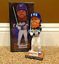 Justin Turner STAR WARS Bobblehead SGA Featuring Han Solo and Chewbacca jersey