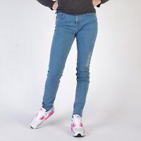 Levi's 721 Vintage High Rise Skinny New Orange Tab Blau Damen Jeans 31/30