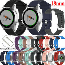 18mm Silicone Strap Wristband For Fossil Women's Gen 4 3 Q Venture HR Smartwatch