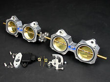 4 Cylinder DCOE 50mm Throttle Body Kit inc TPS - For Performance and Racing