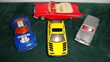 MATCHBOX CARS – ROLLS ROYCE – MAZDA – FORD SIERRA & 57 CHEVY CONVERTIBLE