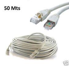 50M METER RJ45 CAT5E ETHERNET NETWORK INTERNET LAN PATCH MODEM ROUTER LEAD CABLE