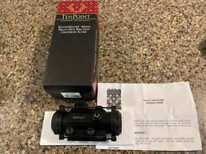 Ten Point Crossbow Scope Pro 40 multi-dot red   HCA-089M
