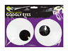 Extra Large Self Adhesive Googly Eyes- Halloween Glow In The Dark Decoration