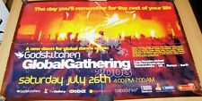 GODSKITCHEN DANCE FESTIVAL 'TICKETS ON SALE NOW' POSTER SATURDAY JULY 26th 2003