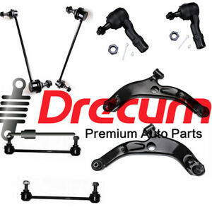 8Pcs Front Control Arm Sway Bar Link Tie Rod For Mazda Protege Protege 5 cdetail