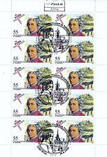 A_237 Kleinbogen 2603 ʘ aus 2006 - 250. Geburtstag W. A. Mozart