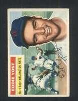 1956 Topps #128 Eddie Yost EX/EX+ Senators 94357